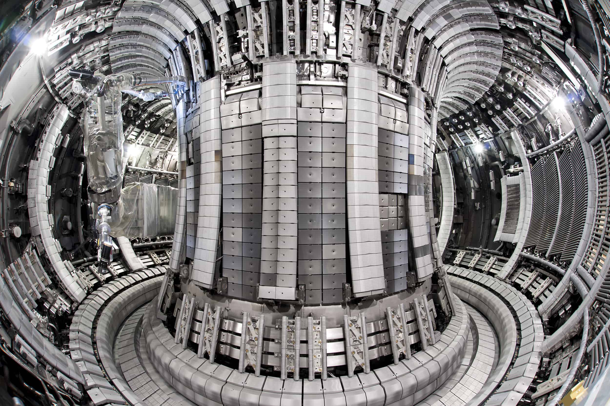 photo of iter international thermonuclear experimental reactor